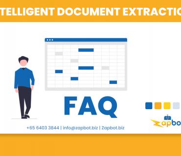 FAQ Intelligent Document Extraction